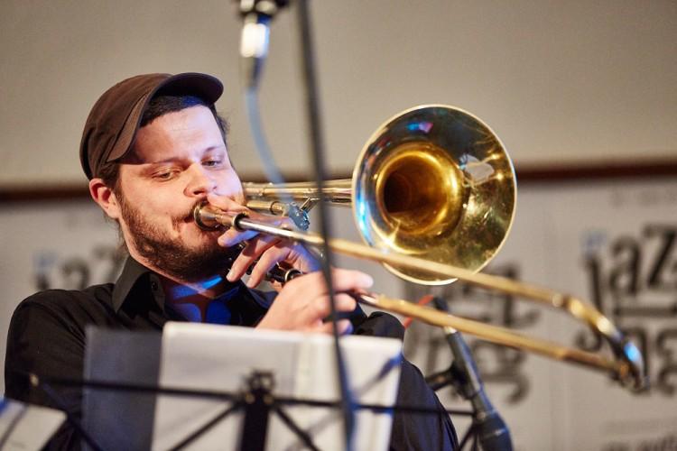 Points Septet jazz horns dechy Jirucha Jazzinec Trutnov 2015 Photo by Milos Salek