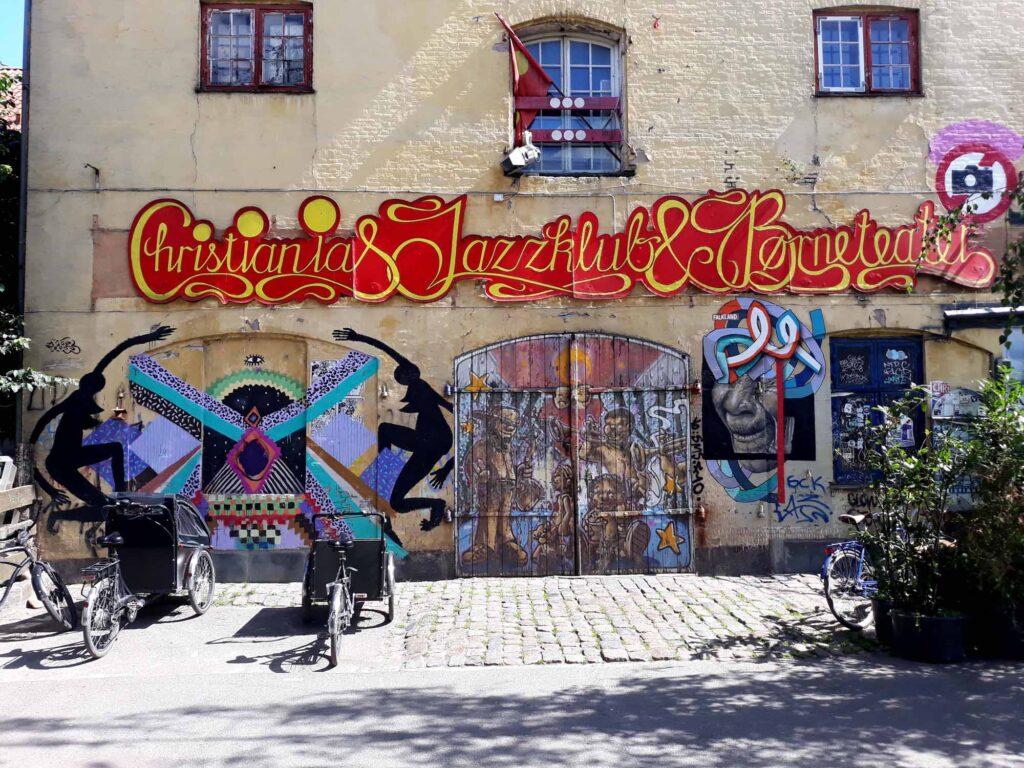 Photo of the Christiania jazz club Børneteateret