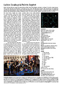 Press release Lubo Soukup & Points Septet Animal music