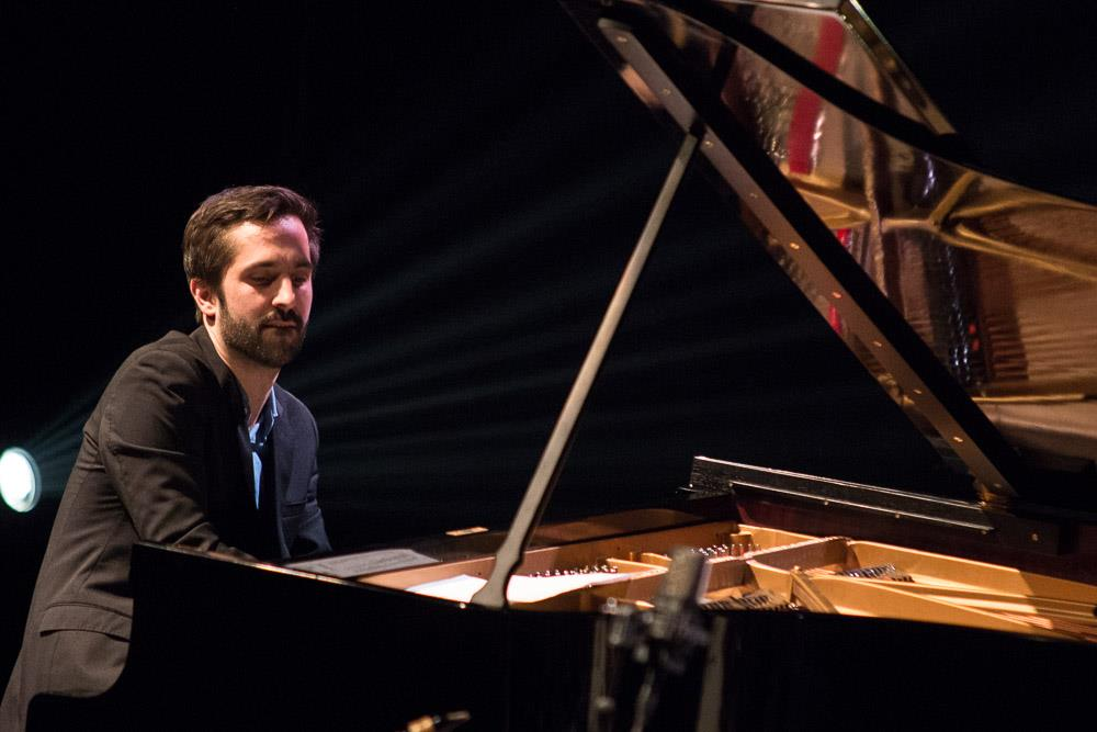 Pianist Christian Pabst playing with Lubos Soukup Quartet at Jazz Fest Brno 2017   photo by Martin Zeman