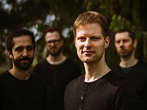 Lubos Soukup Quartet (Lubos Soukup, ChristianPabst, Morten Christian Haxholm Jensen, Morten Hæsum) | photo by Malwa Grabovska