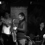 Points Quartet, Lubos Soukup, Oskar Torok, Petr Dvorsky, Tomas Hobzek - trumpet sax double bass drums, trubka saxofon kontrabas bici - modern jazz - Czech Getxo winners