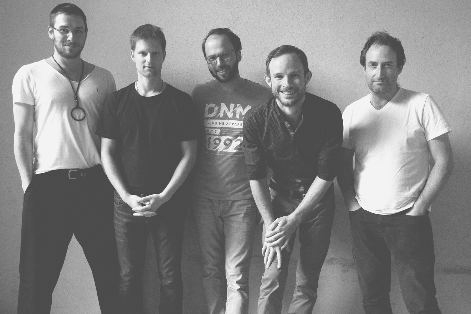 Points Rataj Quintet - Oskar Torok, Lubos Soukup, Tomas Liska, Tomas Hobzek, Michal Rataj Photo by Barka Fabianova