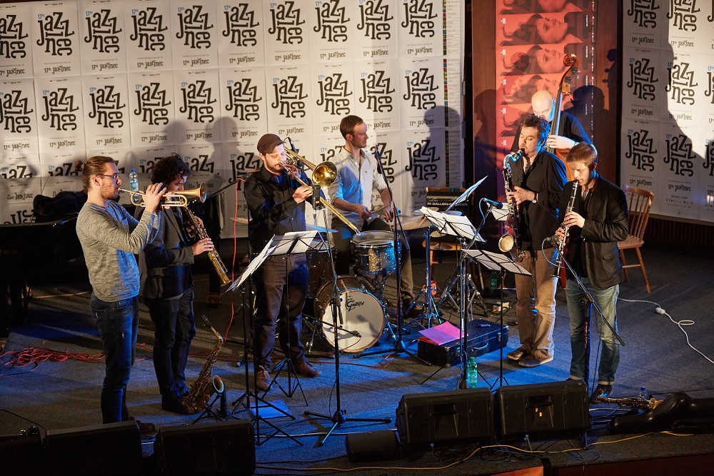 Points Septet zahráli na festivale Jazzinec Trutnov 2015 Photo by Milos Salek