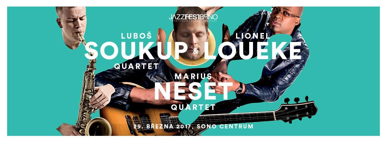 Lubos Soukup Quartet zahraje s Lionelem Louekem na Jazz Fest Brno
